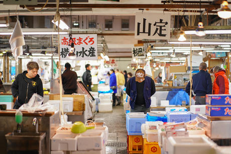 See a real local fish market up close and personal!