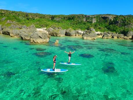 Full Day SUP or Kayak and Snorkelling Tour on Miyako Island